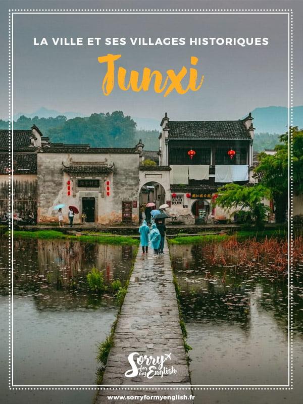 Visite de la ville de Tunxi et ses villages historiques