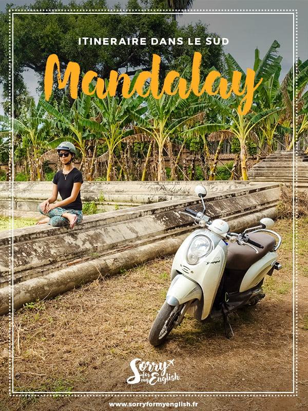 Itinéraire à la rencontre des moines dans le sud de Mandalay