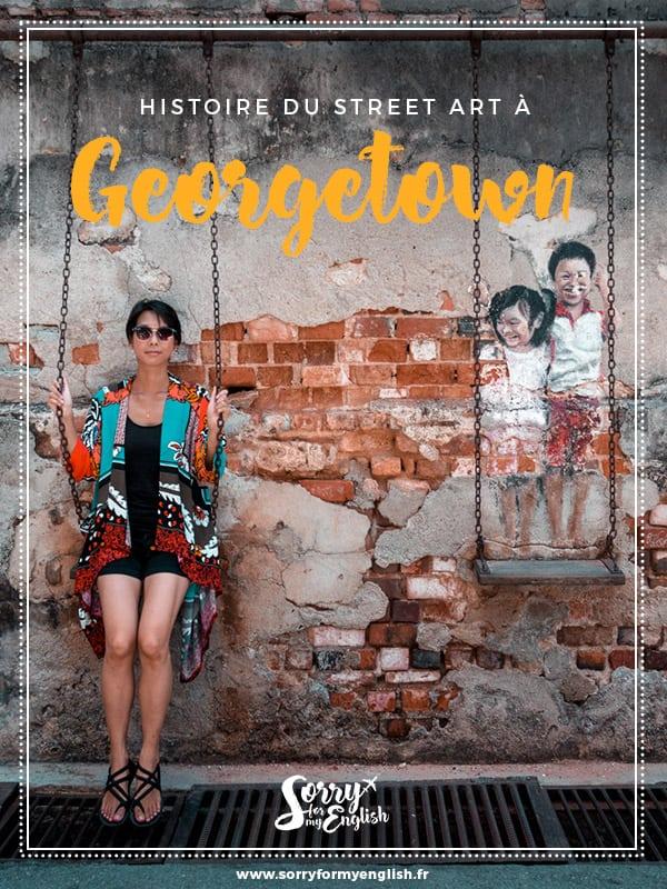 Histoire & parcours de street art à Georgetown